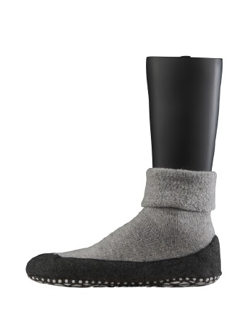Falke Cosyshoe Herren Hausschuhe light grey mel.