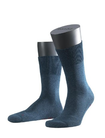 Falke Run Socken marineblau meliert
