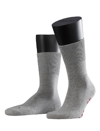 Falke Run Socken light grey mel.