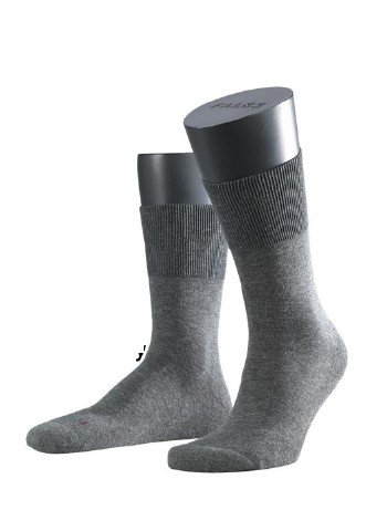 Falke Run Socken dark grey