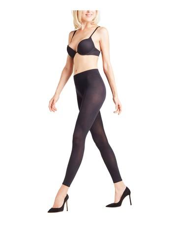 Falke Cotton Touch - Leggings black