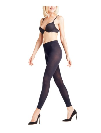 Falke Cotton Touch - Leggings marine
