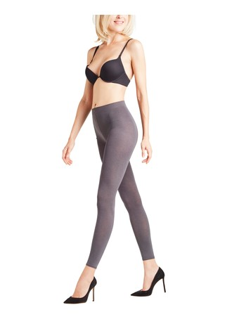 Falke Cotton Touch - Leggings anthra-mix