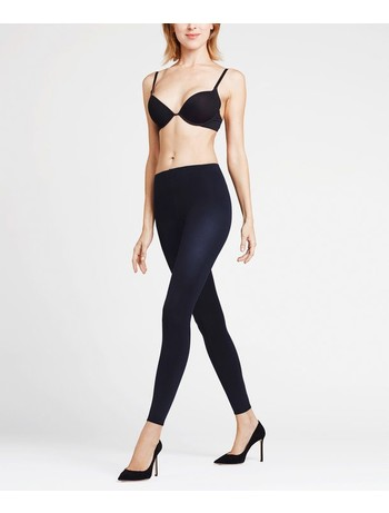 Falke Pure Matt 100 Leggings marine