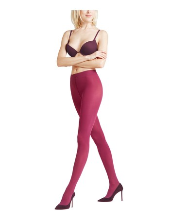 Falke Pure Matt 50 Strumpfhose purple