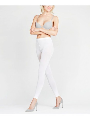 Falke Pure Matt 50 Leggings weiss