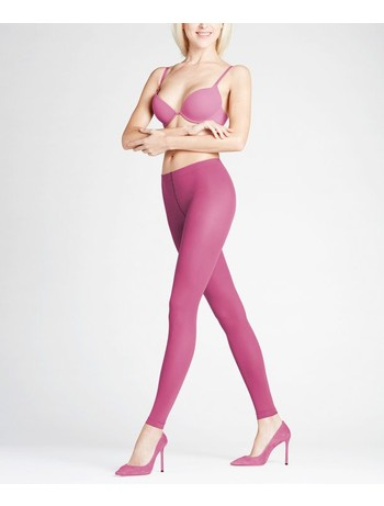Falke Pure Matt 50 Leggings burgunder