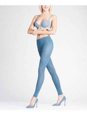 Falke Pure Matt 50 Leggings balticblue