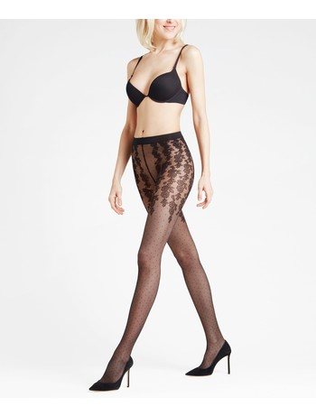 Falke Bloom Dot 20 Strumpfhose black
