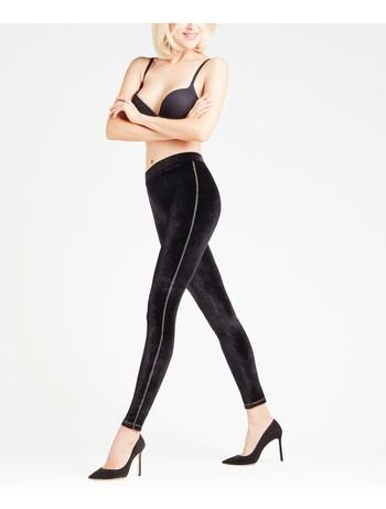 Falke Velvet Leggings black