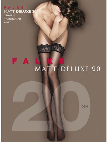 Falke Matt Deluxe 20 Halterlose Strümpfe