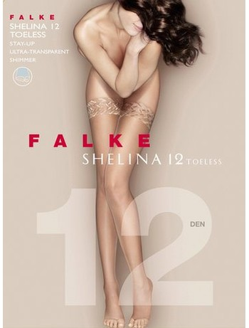 Falke Shelina 12 Toeless Halterlose Strümpfe