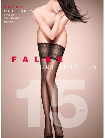 Falke Pure Shine 15 Halterlose Strümpfe