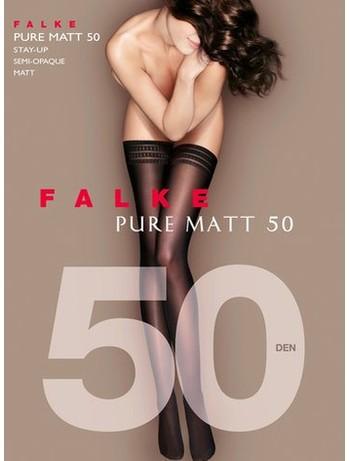 Falke Pure Matt 50 Halterlose Strümpfe