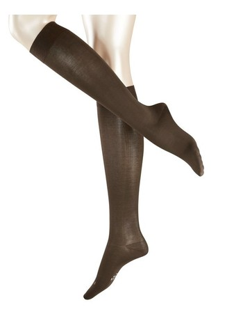 Falke Leg Vitalizer Kniestrümpfe darkbrown