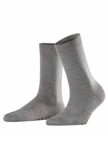 Falke Softmerino Damen Socken hellgrau