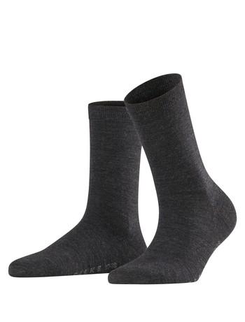 Falke Softmerino Damen Socken anthrazit mel.
