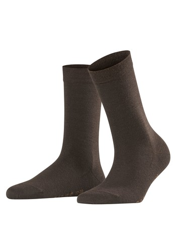 Falke Softmerino Damen Socken darkbrown