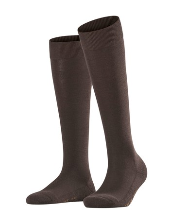 Falke Wool Balance Damen Kniestrümpfe darkbrown