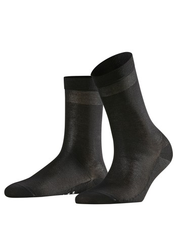 Falke Cotton Delight Damen Socken black