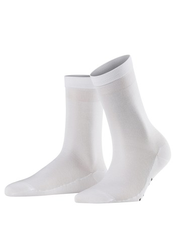 Falke Cotton Delight Damen Socken weiss
