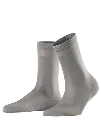 Falke Cotton Delight Damen Socken silber