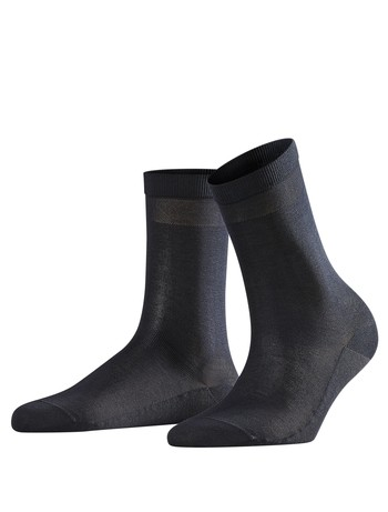 Falke Cotton Delight Damen Socken dunkel marine