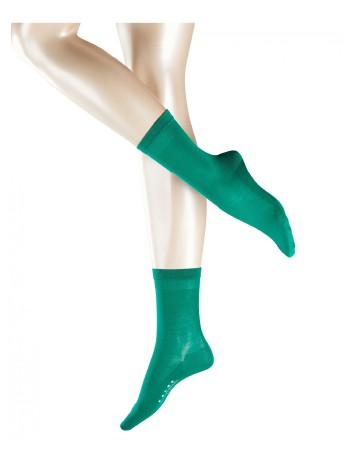 Falke Cotton Delight Damen Socken emerald