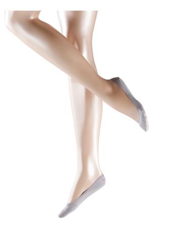 Falke Cotton Touch Step invisble Füßlinge silber