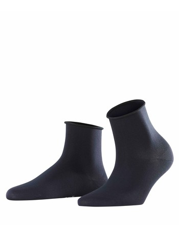 Falke Cotton Touch Damen Socken dunkel marine