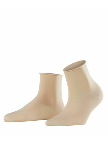 Falke Cotton Touch Damen Socken creme