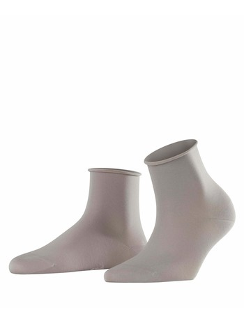Falke Cotton Touch Damen Socken silber
