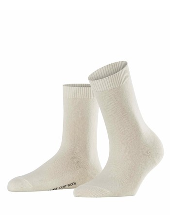 Falke Cosy Wool Damen Socken off white