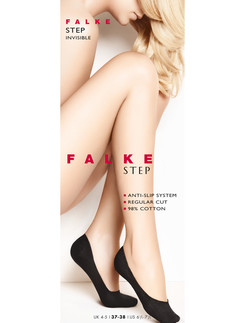 Falke Step Invisible Baumwoll Fuessling