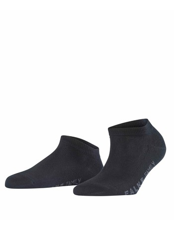 Falke Family Damen Sneackersocken black