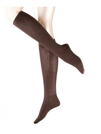 Falke Family Damen Kniestrümpfe darkbrown