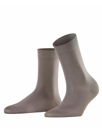 Falke Cotton Touch Damen Socken platinum