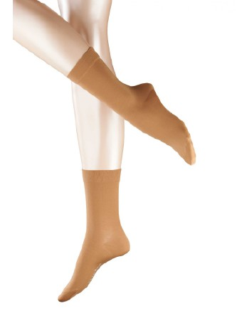 Falke Cotton Touch Damen Socken caramel