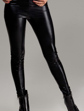 Forplay Metallic Glanz Leggings, im Nylon und Strumpfhosen Shop