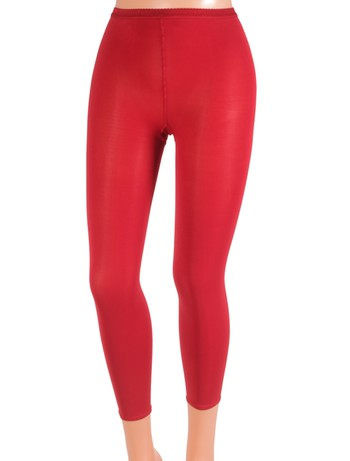 Gerbe Collant Sans Pieds - Leggings rubis