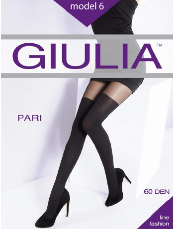 Giulia Pari Nr. 6 Overknees Strumpfhose, im Nylon und Strumpfhosen Shop