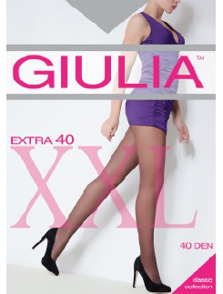 Giulia Extra 40  leichte Stützstrumpfhose in Übergröße