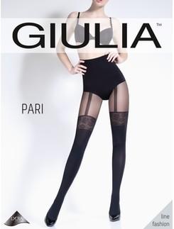 Giulia Pari 60 #26 Strumpfhose in Straps-Optik