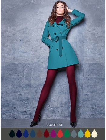 Giulia Samba 40 Strumpfhose in Farbe marsala