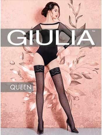Giulia Queen 20 #1 halterlose Strümpfe