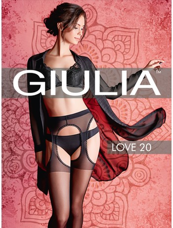 Giulia Love 20 Strapsstrumpfhose