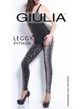 Giulia Python #2 Leggings mit Schlangenmuster, im Nylon und Strumpfhosen Shop