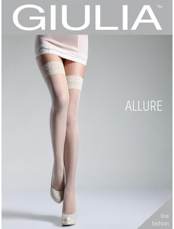 Giulia Allure 20 #6 halterlose Strümpfe bianco