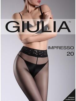 Giulia Impresso 20 transparente Hüftstrumpfhose