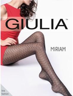 Giulia Miriam 20 #1 gemusterte Feinstrumpfhose